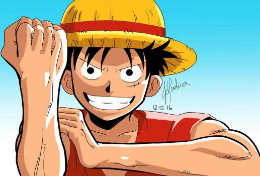 Luffy :D by JhyD