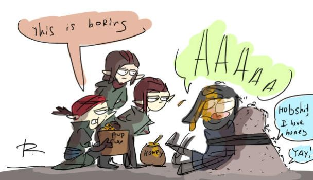 The Witcher 3, doodles 238 by Ayej