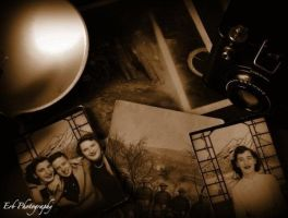 Grandma's Past by erbphotography