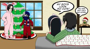 An Uchiha Christmas Story by ToonTwins