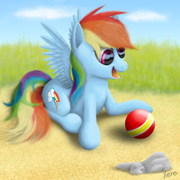 It's a ball! by The1Xeno1