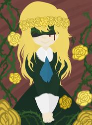 Golden Rose by OpalesquePrincess