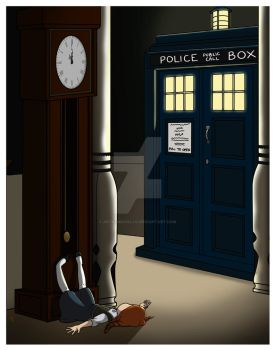 Do You Want To Meet a Time Lord? by artbymikaelak