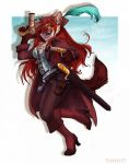 Pirate Dhole Emberpaws - 2014 Commission by frisket17