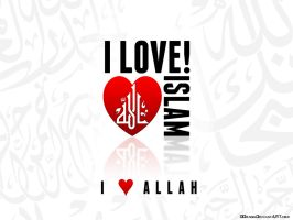 I love Islam wallpaper by DDrAgO
