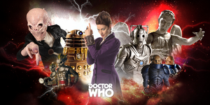 Doctor Who The Enemies 2005-2015 by 10kcooper