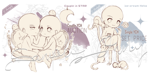 [CLOSED TY] Limited YCH auction! by Skunkyfly