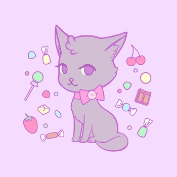 Candy Kitty by poplarleaves