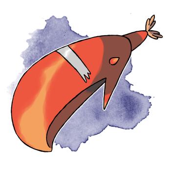 Lobster Claw Whale Ultra Beast Fakemon For Sale by DarkySG