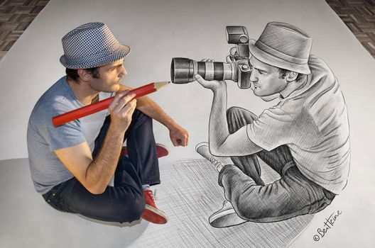 Pencil Vs Camera - 73 by BenHeine