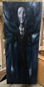 Slender man  by zackdunn89