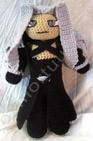 Sephiroth Tribute Doll by voxmortuum