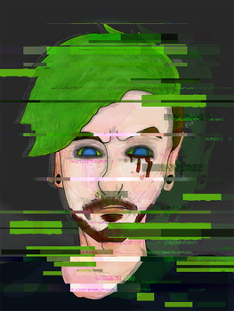 Antisepticeye :: Dark Youtubers :: by TheAcrylicKnight