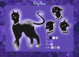 Reference Sheet: Slyther by Rose-Fox-LP