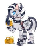 drink for metal (zecora the drumer) by XxsilvixX