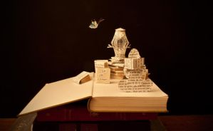 Reading is escaping... by KarineDiot