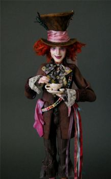 Johnny Depp - Mad Hatter by wingdthing