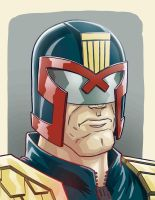 Judge dredd by JoseRealArt