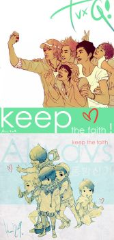 TVXQ  keep the faith by 0KiWi0