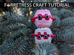 DIY: Forretress Plushie Tutorial | Free Pattern by gamerwhit