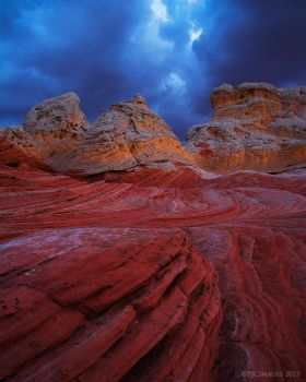 Storm Folds by PeterJCoskun