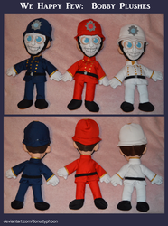 We Happy Few: Bobby Plushes by DonutTyphoon