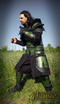 Jade Warrior Armor by ArtisansdAzure