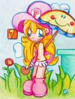 Plumber Peach 2.0 by bchan