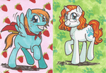 Two Ginger Ponies by VickyViolet