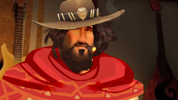Mcree except it's Metro Man from Megamind by 800080ST