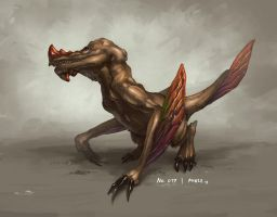 Monster No. 017 by Onehundred-Monsters