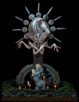 The Night of Lord Shiva by sivousplay