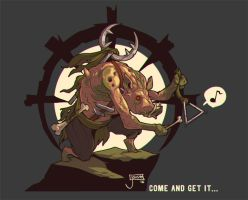 Come and get it! Darkest Dungeon by jouste