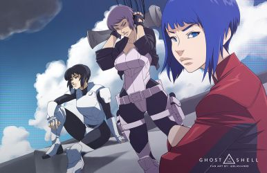 Ghost in the Shell Generations by Blasian89