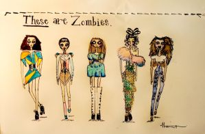 These are Zombies by LittleMissRockstar