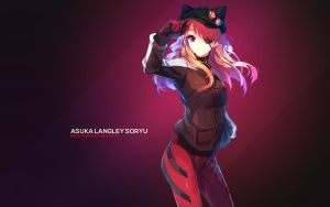 Asuka  Langley Soryu by AssassinWarrior