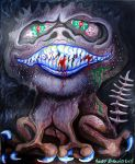 Grinning Monster by HeidyRolland