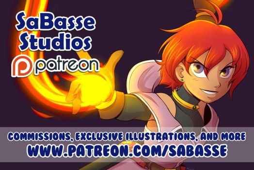 Now on Patreon by SaBasse