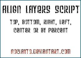 Align Layers Script by noclayto