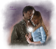 Tony Pepper-My heart is yours by LadyMintLeaf