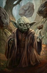 Master Yoda by pinkhavok