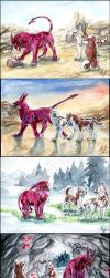 Quests in hot and cold. by Sysirauta