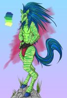 Muscley Zebra Adoptable [OPEN] by metallic-feather