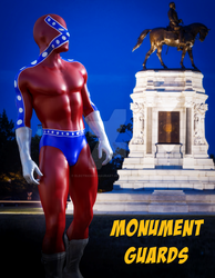 Monument Guards by PGandara by ElectricDinosaurArt