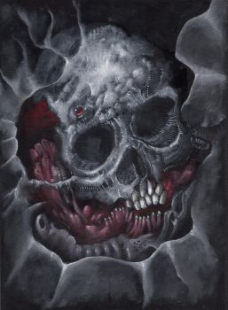 Mutation Skull by Narcisse-Shrapnel