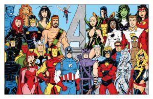 Avengers - Bronze Age by calslayton