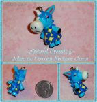 Animal Crossing - Julian the Unicorn Charm - ACNL by YellerCrakka