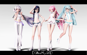 Tda White VocaloidllDownloadll by kuraishiro361