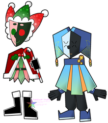SPM: Jester sibs, game style by PuppyLuver
