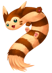 Furret by Bestary